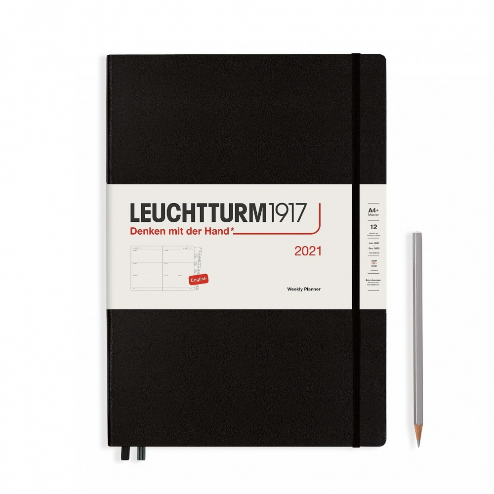 Lt361990,Leuchtturm bureauagenda 2021 7d2p horizontaal zwart