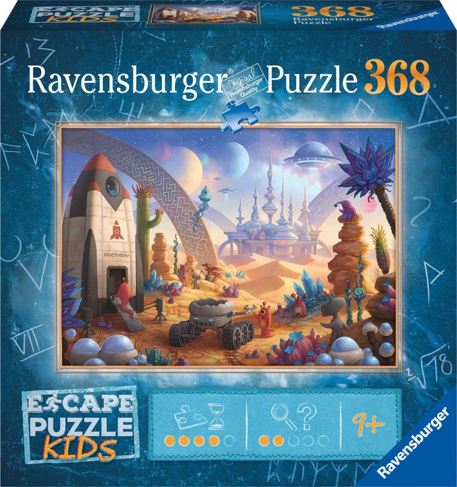 Rav-132676,Puzzel escape kids -space- 368 stukjes