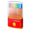 ,<b>Fineliner Stabilo Point 88 etui &agrave; 20 stuks assorti</b>
