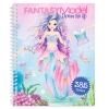 , Fantasy model dress me up stickerbook