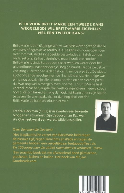 Fredrik Backman,Britt-Marie was hier
