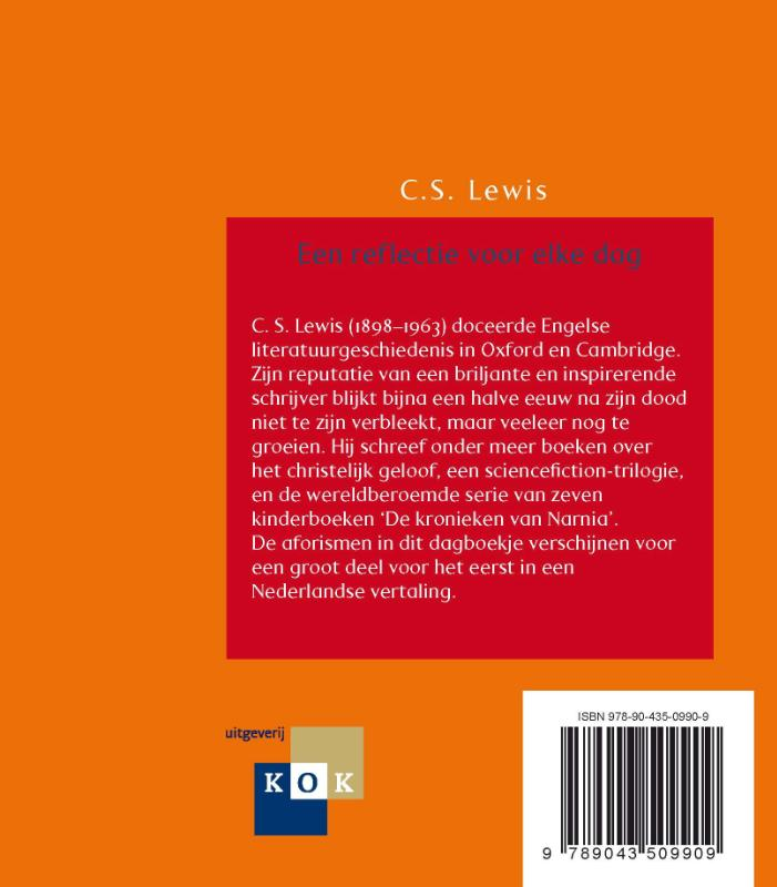 C.S.  Lewis,Een reflectie voor elke dag