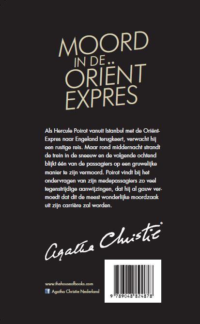 Agatha Christie,Moord in de Oriënt Expres