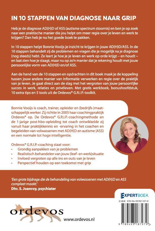 Bonnie Vooijs,In 10 stappen van diagnose naar grip