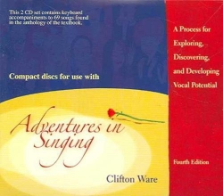 Ware, Clifton Audio CDs Adventures in Singing