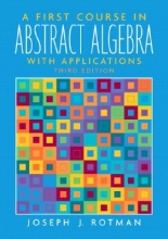 Joseph J. Rotman A First Course in Abstract Algebra