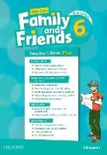 Simmons, Naomi American Family and Friends: Level Six: Teacher`s Book Plus