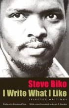 Biko, Steve I Write What I Like