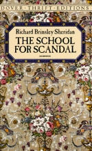 Sheridan, Richard School for Scandal