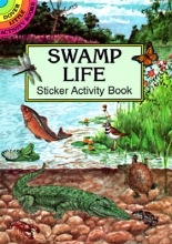 Petruccio, Steven James Swamp Life Sticker Activity Book