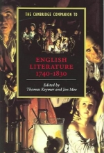Keymer, Thomas Cambridge Companion to English Literature, 1740-1830