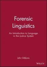 John Gibbons Forensic Linguistics