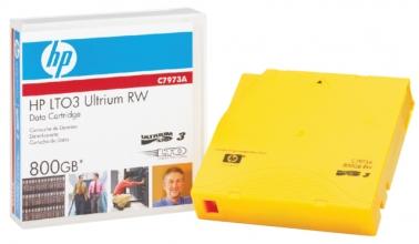 , Datatape HP C7973A LTO 3 ultrium 800Gb geel