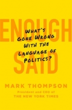 Thompson, Mark Enough Said