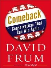 Frum, David Comeback