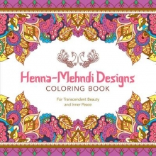Lark Crafts Henna-Mehndi Designs Coloring Book