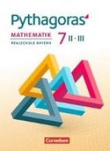 Babl, Franz,   Klein, Hannes,   Baumgartner, Stephan,Pythagoras 7. Jahrgangsstufe - Realschule Bayern (WPF II/III) - Schülerbuch