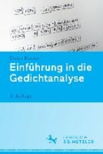 Burdorf, Dieter Einführung in die Gedichtanalyse