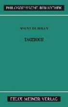 Maine de Biran, Marie Tagebuch