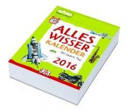 memo Kalender Alleswisser Kalender fr jeden Tag 2016