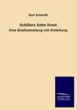 Schmidt, Karl Schillers Sohn Ernst