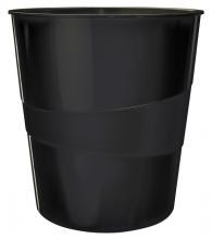 , Papierbak Leitz WOW 15liter zwart