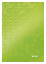 , Notitieboek Leitz WOW A5 lijn groen