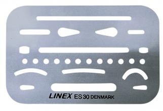 , Radeersjabloon Linex es-30