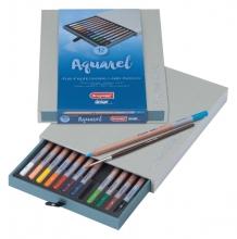 , Kleurpotloden Bruynzeel 8835 Design aquarel 12stuks assort