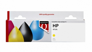 , Inktcartridge Quantore HP CN628AE 971XL geel HC