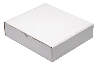 , Postpakket CleverPack golfkarton 330x300x80mm wit 5stuks