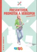 Inge Berg , Presenteren, promoten & verkopen vmbo Leerwerkboek