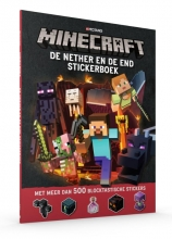 , De Nether & de End Stickerboek