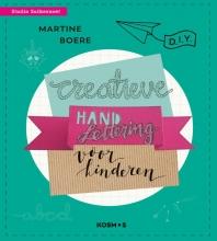 Martine Boere , Creatieve handletteringprojecten voor kinderen