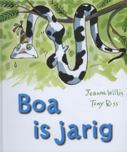 Jeanne  Willis Boa is jarig