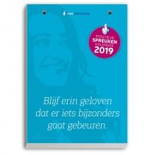Mark Verhees Scheurkalender positieve spreuken 2019