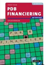 H.M.M. Krom , PDB Financiering met resultaat Opgavenboek bij 4e druk