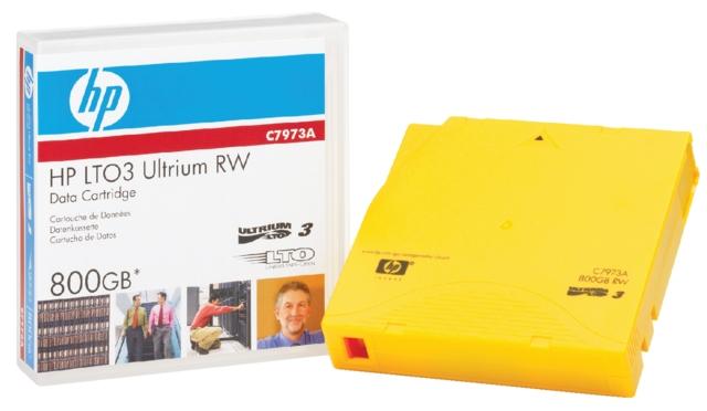 ,Datatape HP C7973A LTO 3 ultrium 800Gb geel