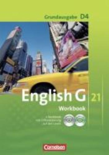 Seidl, Jennifer,   Abbey, Susan,   Schwarz, Hellmut,English G 21. Grundausgabe D 4. Workbook