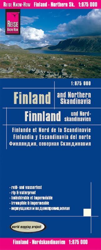 ,Reise Know-How Landkarte Finnland und Nordskandinavien 1 : 875 000