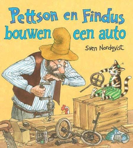 Sven Nordqvist,Pettson en Findus bouwen een auto