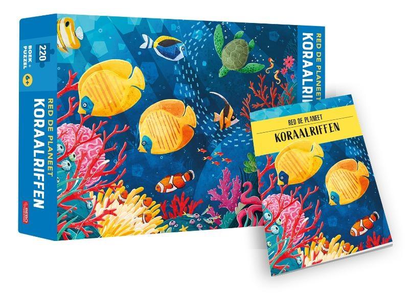 Giulia Pesavento,Koraalriffen - Red de planeet - puzzel en boek