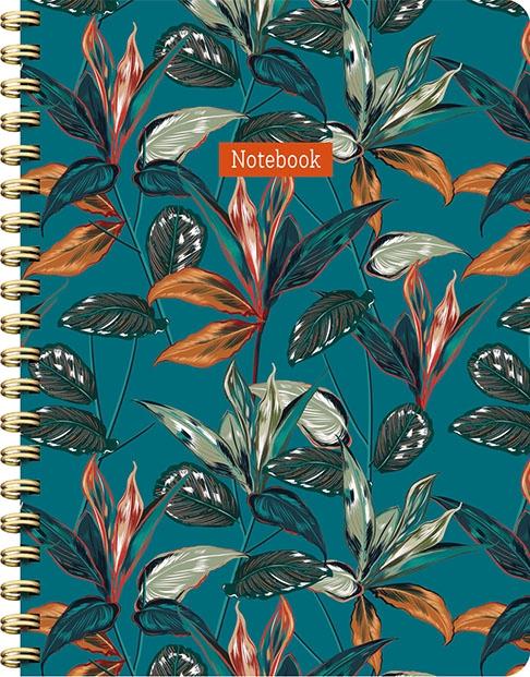 ZNU,Tropical spiraalboek groot (lijnen)