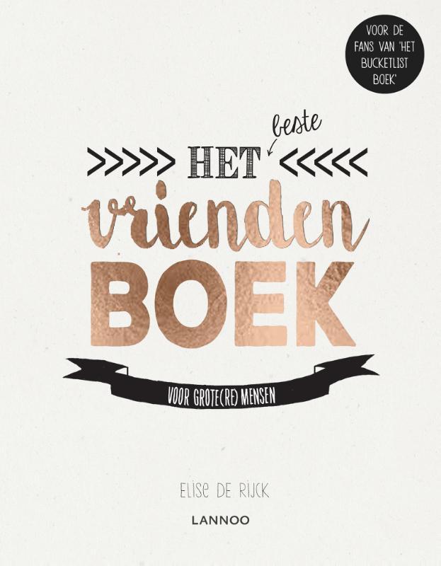 Elise De Rijck,Het beste vriendenboek