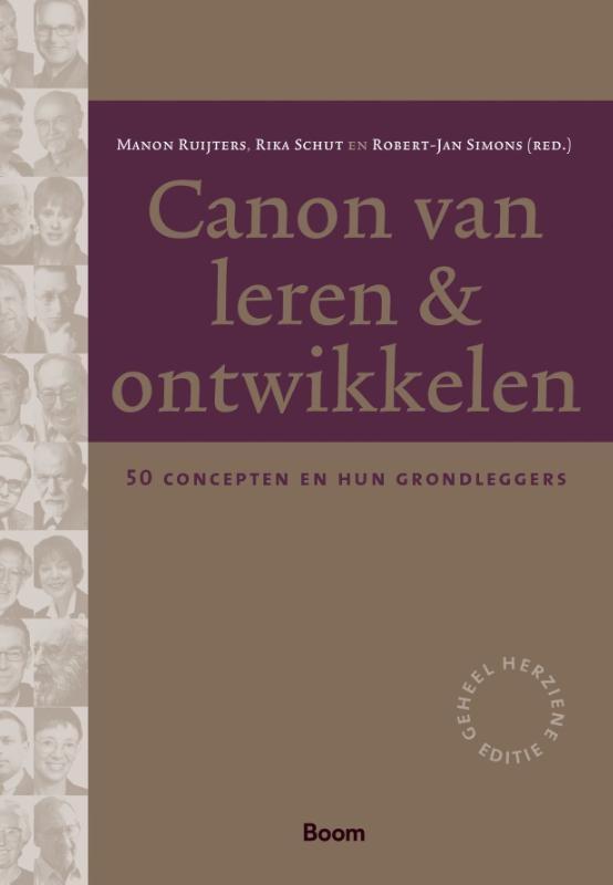 Manon Ruijters, Robert-Jan Simons, Rika Schut,Canon van leren & ontwikkelen