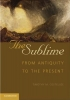 The Sublime,From Antiquity to the Present