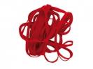 ,elastieken Alco 150x4mm 500 gram in doos rood