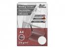 ,schutbladen ProfiOffice A4 270gr. karton 100 stuks leer     grijs