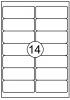 ,Etiket Quantore 99.1X38.1mm 210stuks