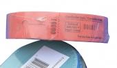 ,Garderobebonnen Combicraft nummering 2x 1 t/m 500 blauw